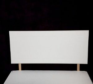 3ft Single Size Headboard - White